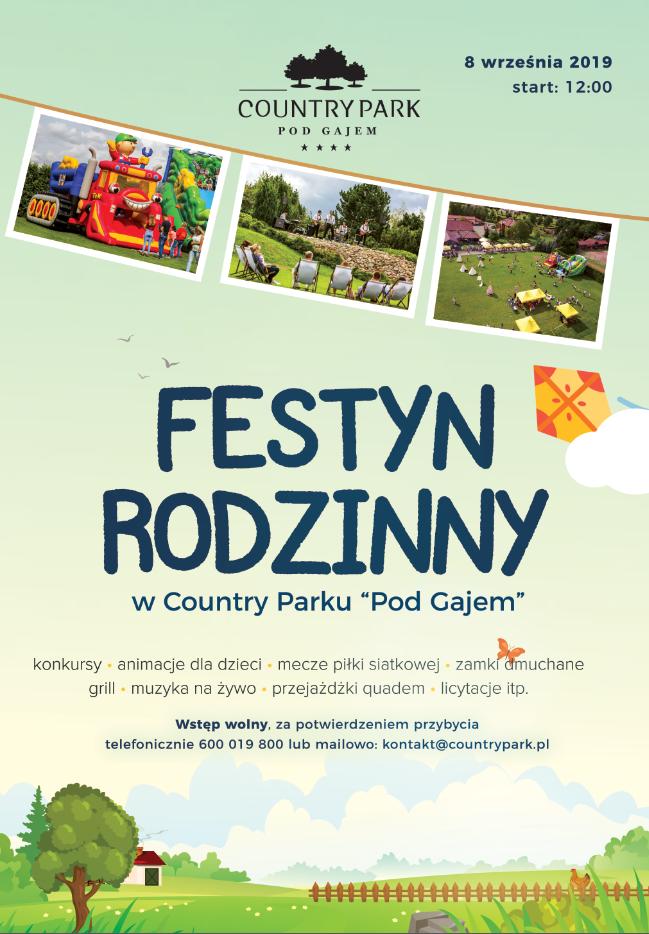 festyn rodzinny country park
